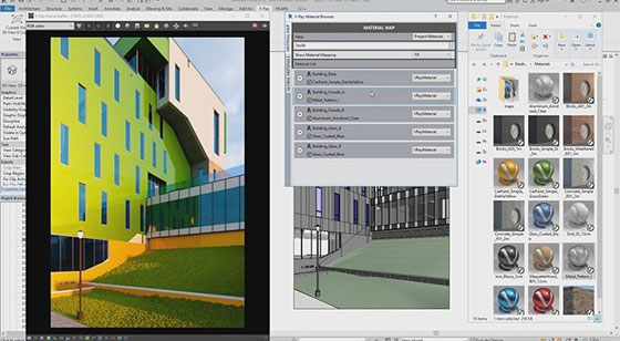 The newest version V-ray 3.5 for Revit is released by Chaos Group
