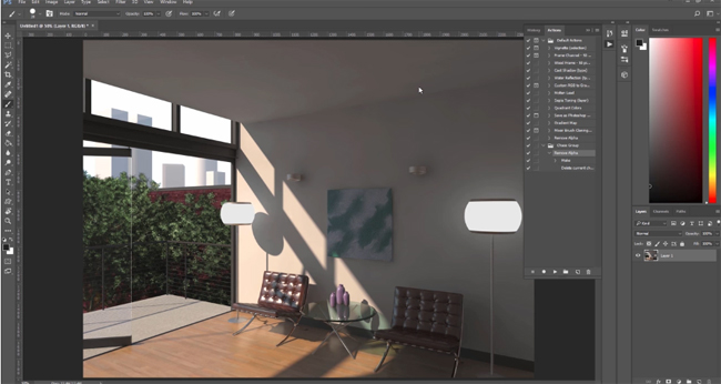 Tips to fine-tune particular components of a render image with V-ray for Revit