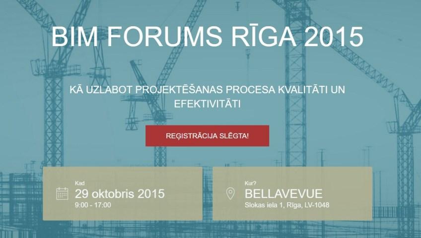 BIM Forum Minsk 2016