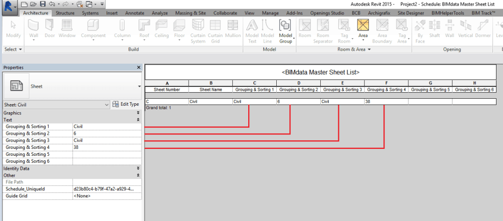 Revit Sheet Lists
