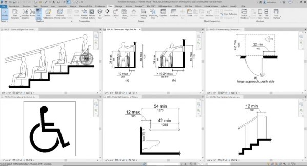 Revit ADA Drafting Views