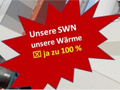 Bürgerbegehren gegen die Teilprivatisierung der SWN-Wärmeerzeugung in den Startlöchern