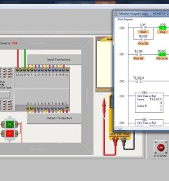 industrial electrical contractors training plc ladder logic examples [ 1366 x 768 Pixel ]