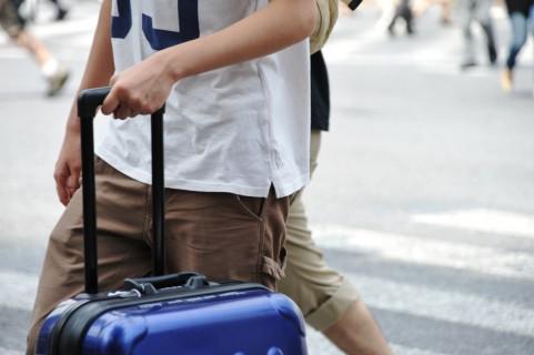 コミケでカバン、リュック、バッグ、キャリーケースは邪魔?日傘やスーツケースは?