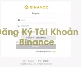 Hướng Dẫn Cách Đăng Ký Tài Khoản Binance.com mới nhất 2021 -