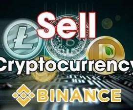 Hướng Dẫn Bán Đồng Cryptocurrency Trên Sàn Giao Dịch Binance -