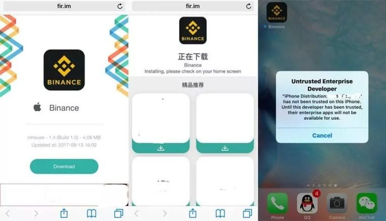 Hướng Dẫn Cách Cài Đặt Ứng Dụng Binance Trên Hệ Điều Hành iOS -