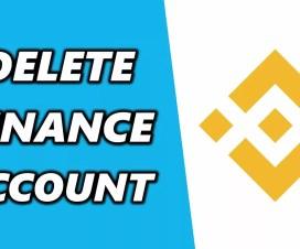 Cách vô hiệu hóa và xóa tài khoản Binance mới nhất 2021 -