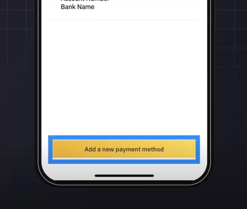 thêm phương thức thanh toán mới trên Binance P2P