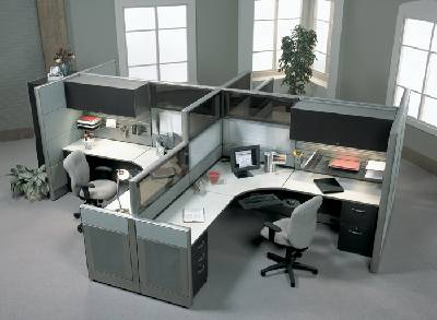 Modern Contemporary Office Cubicle Manhattan Long Island New York