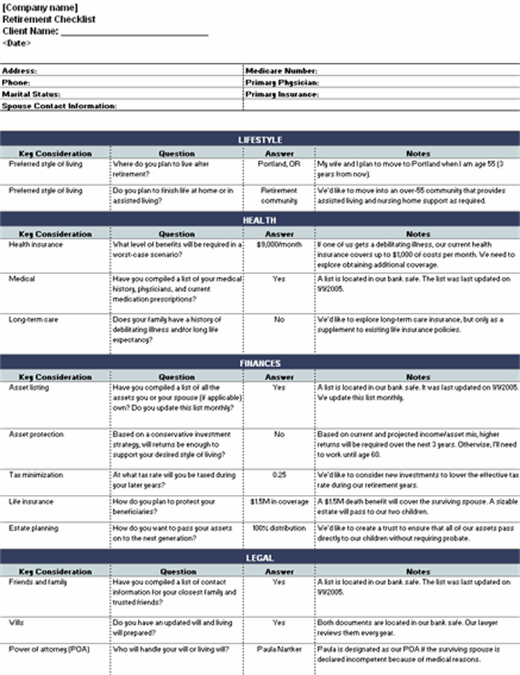 Download Your Free Microsoft Word Checklist Template