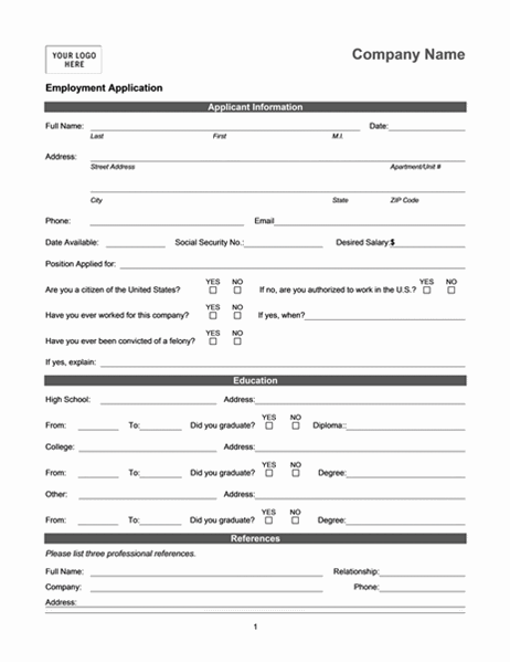 Most support dei, but don't know how to implement it. Employment Application Online