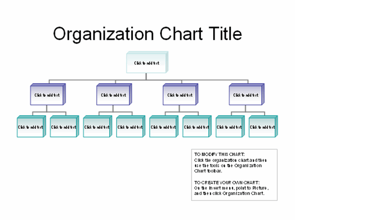 Chart templates for more personal use include retirement planning charts, diet and exercise logs, event timelines, family tree charts, travel itineraries, seating charts, even a tournament bracket. Business Organizational Chart