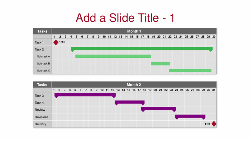 · portrait, fonts, and photos are just for reference only · theme about all excel personal · designed to be used in excel with xls · resources is 0.03m, download it need about 1 seconds Multi Month Gantt Chart