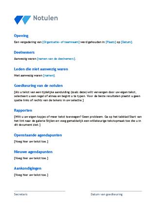 Draft Notulensi Rapat Project Excel | Pengadaan (Eprocurement)