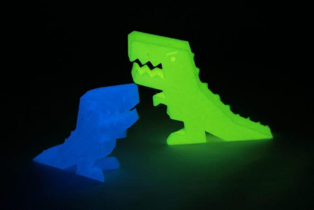 filamento luminoso fluorescente