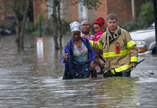 Image result for baton rouge louisiana flood rescue scenes