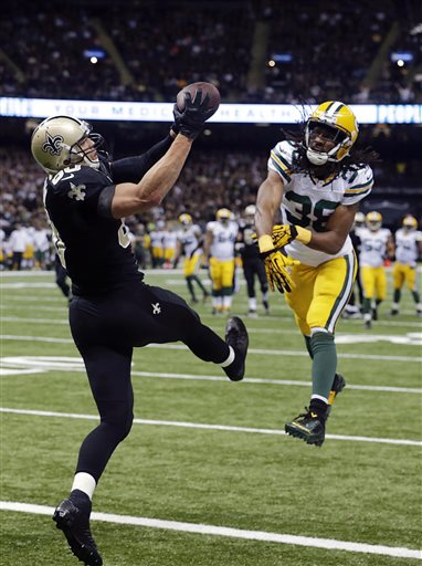 Jimmy Graham, Tramon Williams