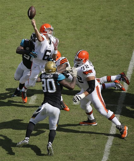 Brian Hoyer, Telvin Smith