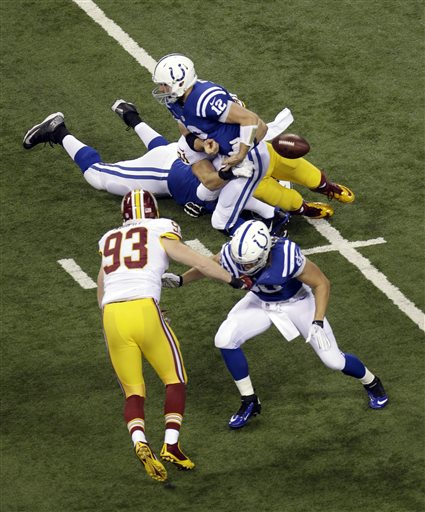 Andrew Luck, Ryan Kerrigan