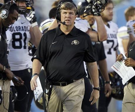 Colorado Coach Mike MacIntyre