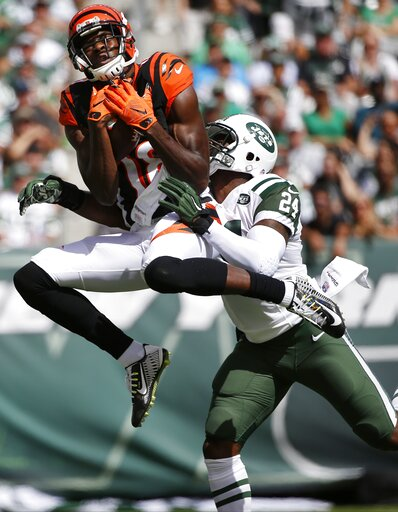 APTOPIX Bengals Jets Football