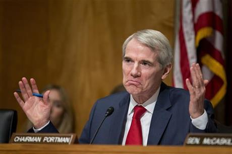 Image result for senator rob portman liar