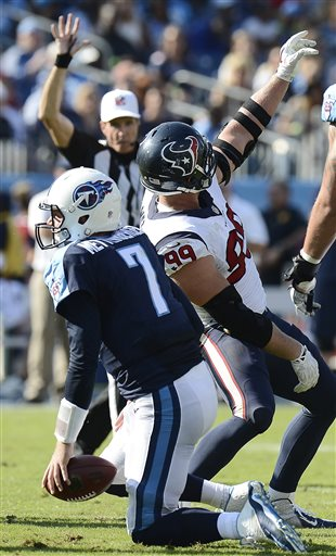 J.J. Watt, Zach Mettenberger