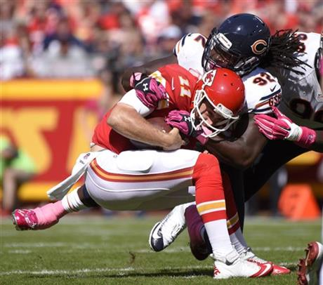 Pernell McPhee, Alex Smith