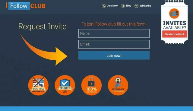 IFollow Club System