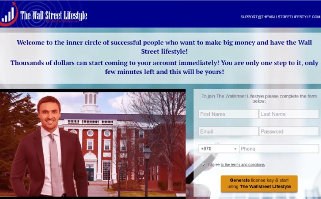 Wall Street Lifestyle IMA Signals Scam