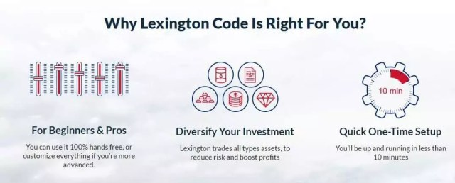 Lexington code binary options