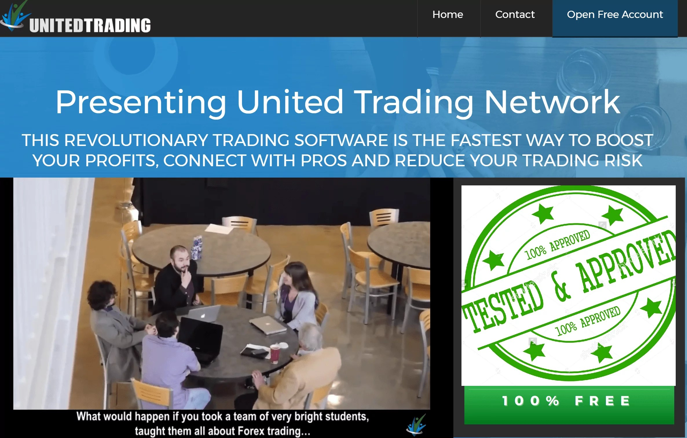 Options trading network