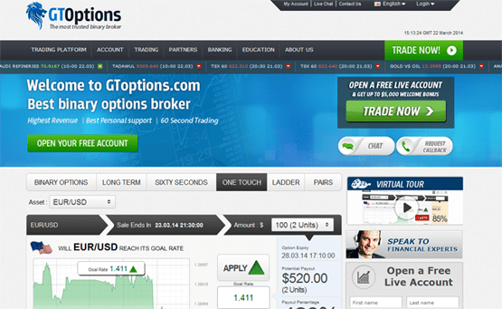 Gto binary options