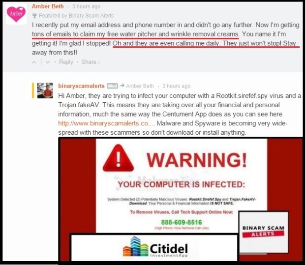 Citadel LTD and Dr Kent Grifly is a Malicious Scam and a Rootkit