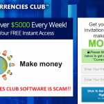 Currencies Club Review – Another Scam? Yes It Is!!
