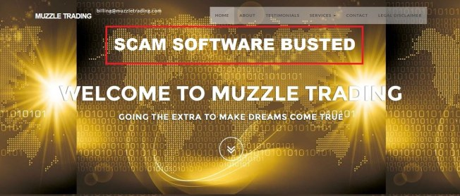 muzzle trading software scam
