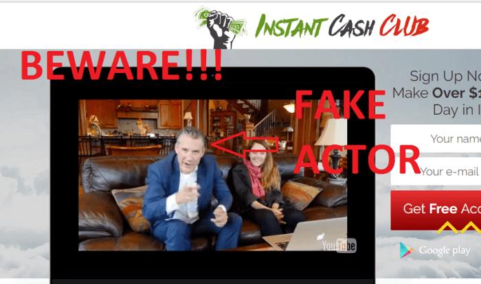 fake actor