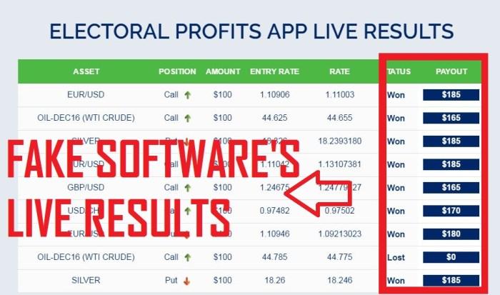 electoral profits live results