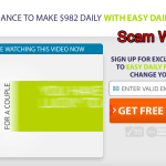 Easy Daily Profits Review – Another Scam System Busted!