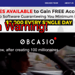 Obcasio Review – Scam Software Exposed! Avoid It!