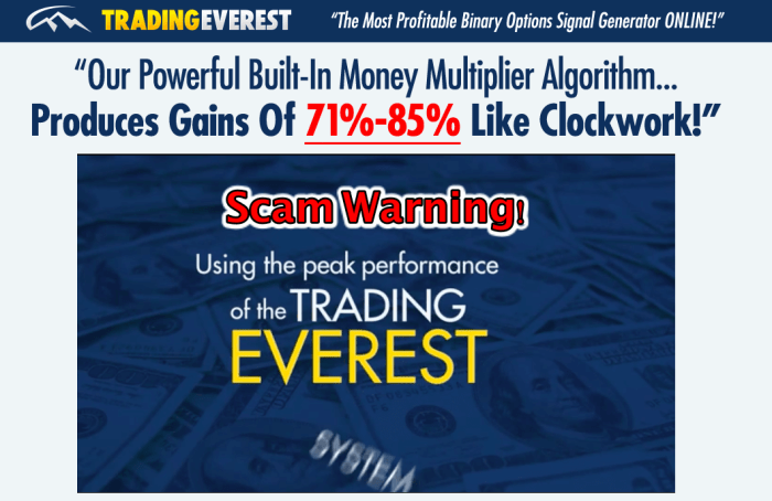 trading everest scam