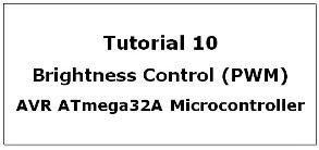 Pulse Width Modulation In AVR Atmega32A Microcontroller