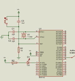 circuit diagram switch with 8051 microcontroller [ 2045 x 1413 Pixel ]