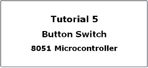 Add switch with 8051 Microcontroller