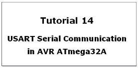 USART in AVR ATmega32A Microcontroller
