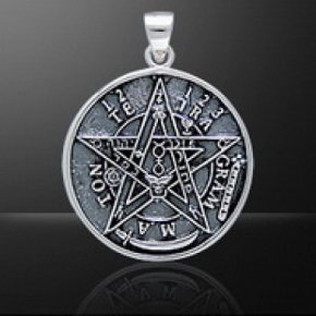 Colgante medalla tetragramaton