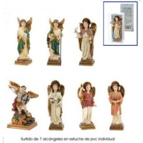 Pack siete arcangeles 11cm