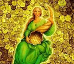 ABUNDIA, diosa de la fortuna, historia y oración.