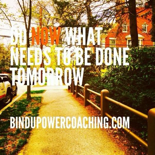 Stop feeling bad and CHANGE